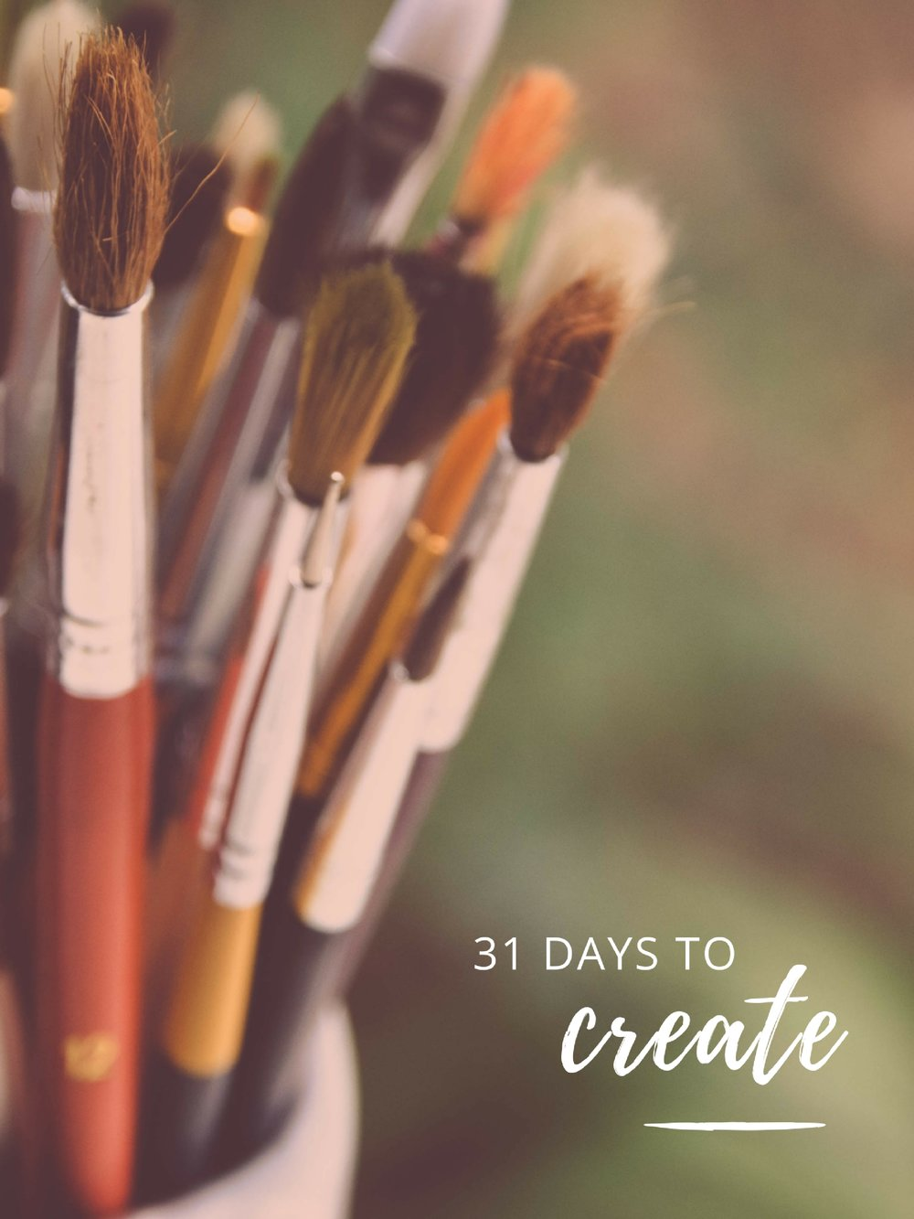31 Days to Create