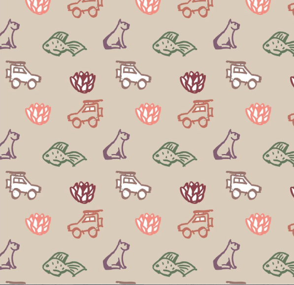 Pattern design by Liz Sparg