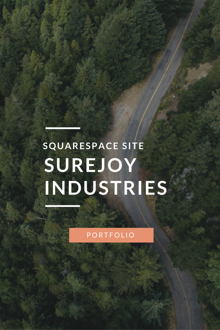 Surejoy-Industries-Squarespace-site