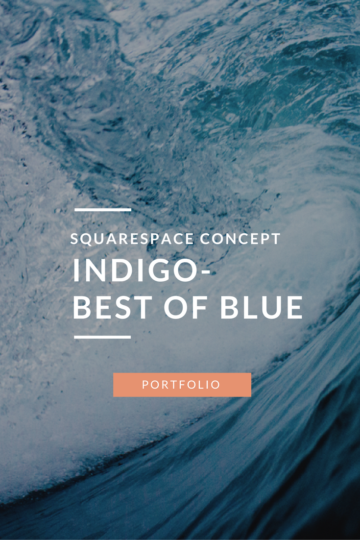 Indigo-Website-Concept