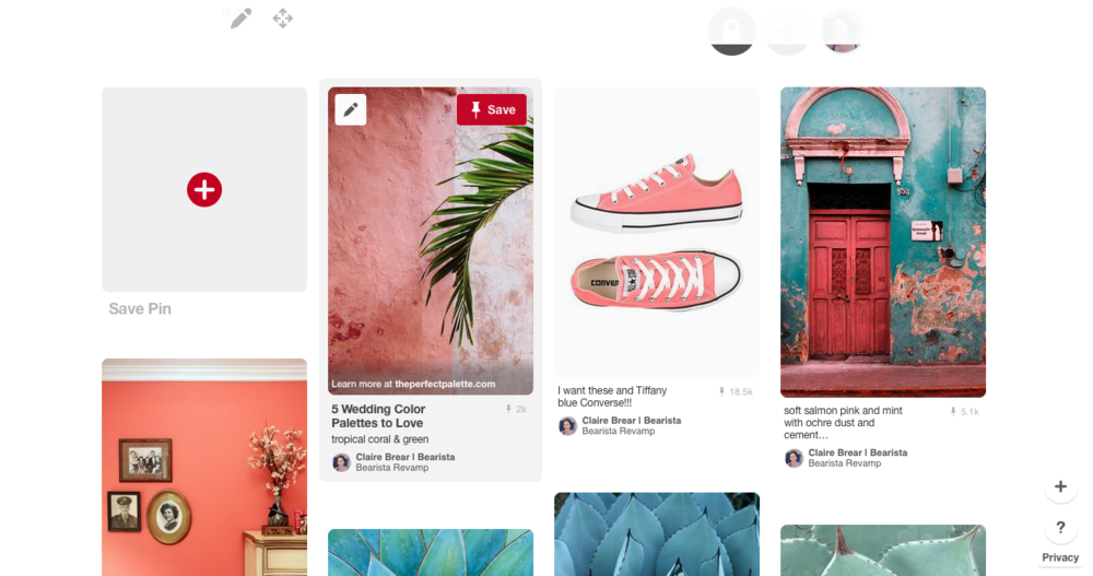 my Pinterest board