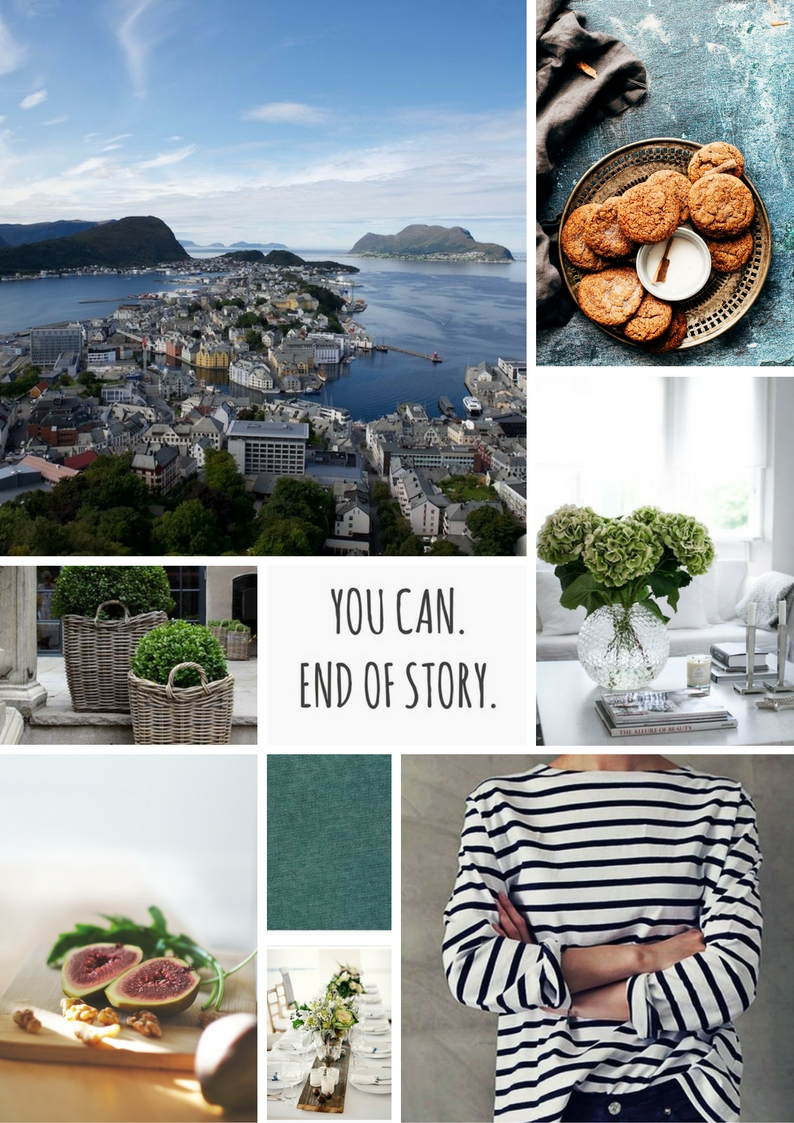 Relaxed, casual, summer styles, good food, beautiful table settings, and travel.