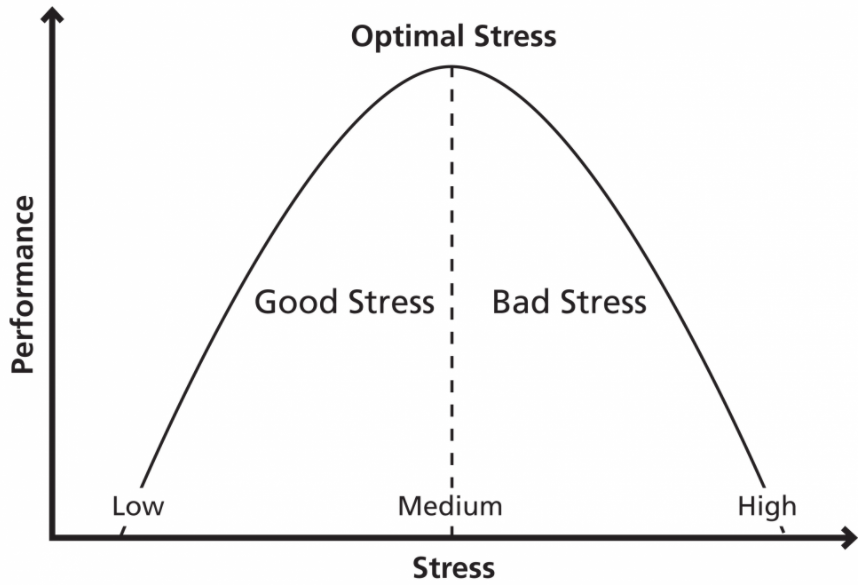The Yerkes-Dodson Law.