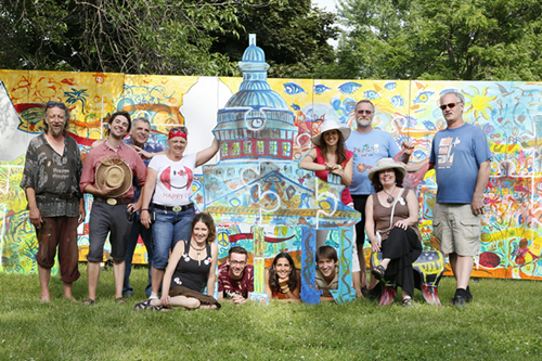 The Artfest Team - Artfest Kingston, 2014  Photo: Alan Ross