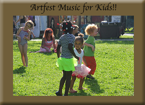 Everyone dances at Artfest!
