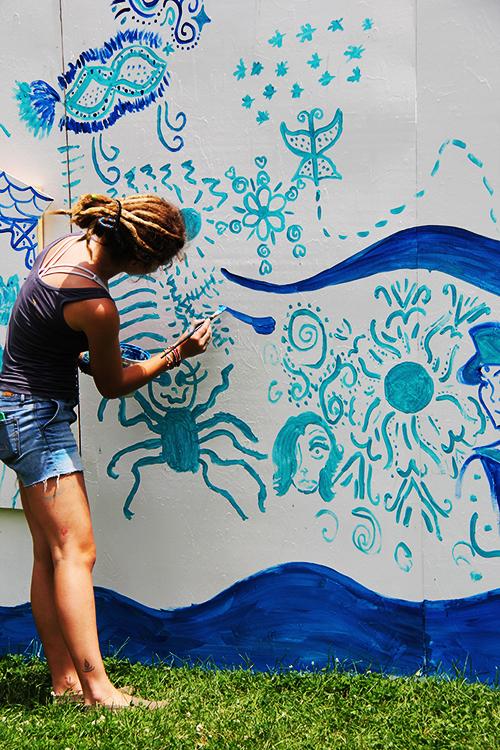 Mural Artist - Kira Kerr