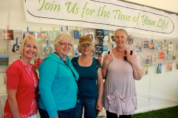 Kingston Seniors Centre~ Tent at Artfest