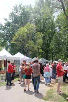 Beautiful Crowds at Artfest