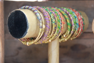 Gypsy Bangles by Raw Eco Jewellery