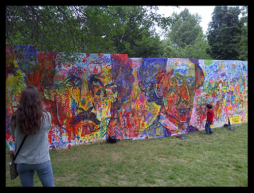 Artfest Mural ~ 2014 Kingston