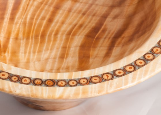 Poplar crotch bowl with poplar branches and soapstone inlay, finished with Danish oil. (3) (Custom) (3).jpg