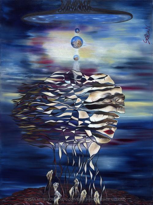 The Birth of Self by Sorian (Sorin Cretu) 30x40inch.jpg