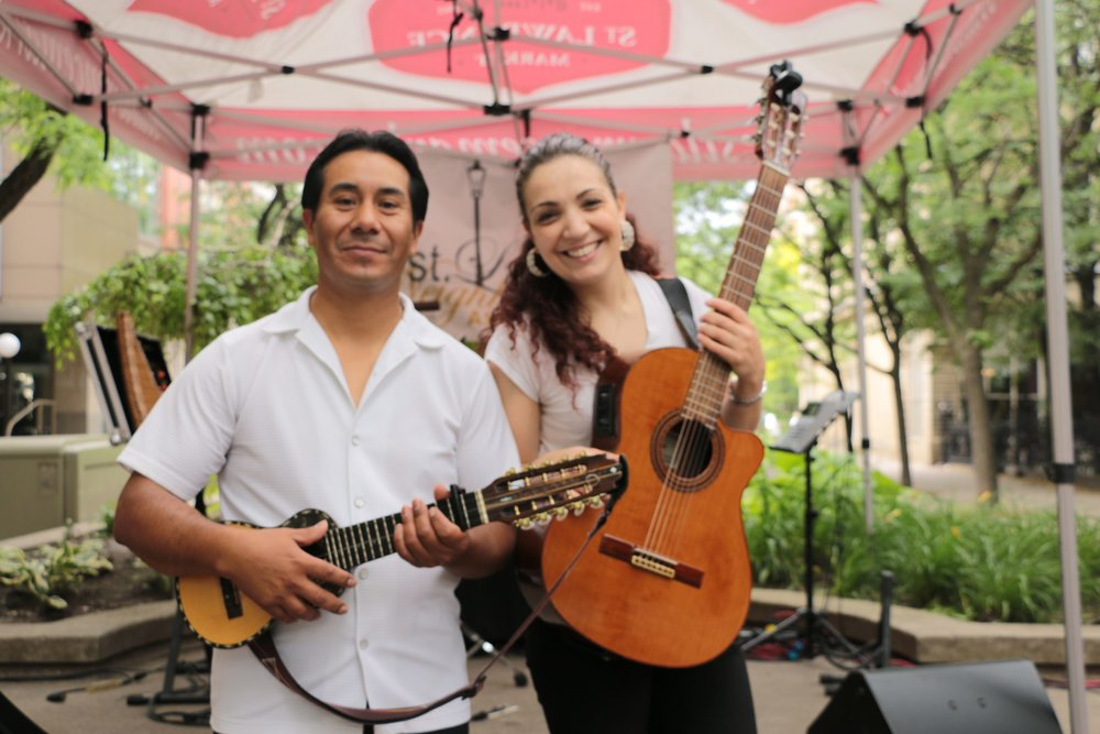 Sunday Farrucas Latin Duo