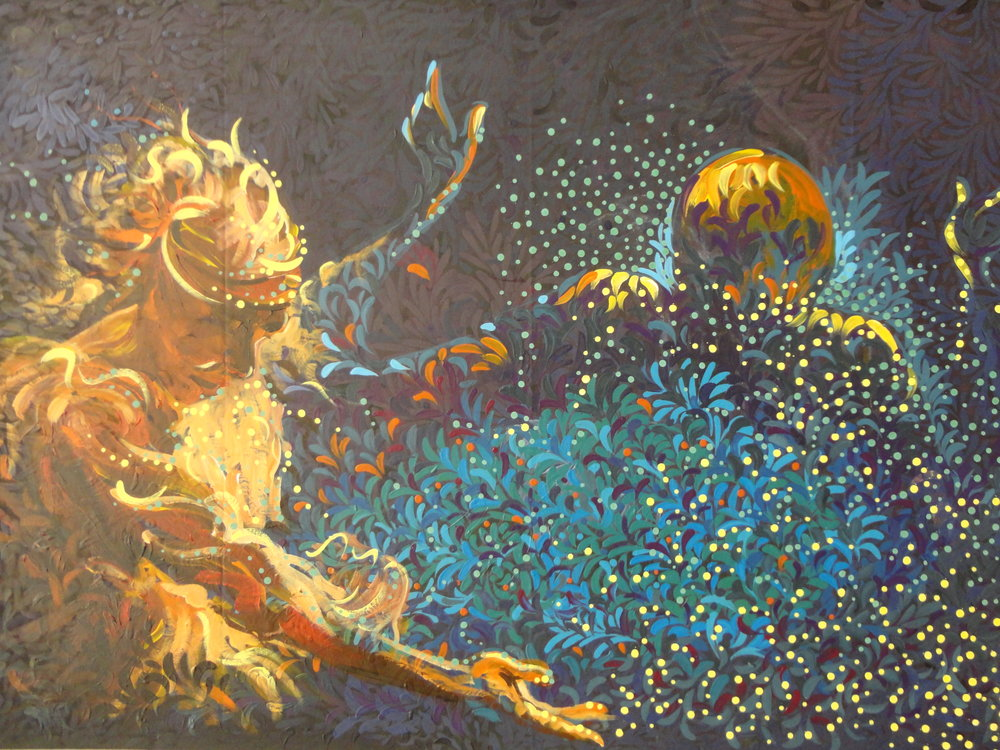 Ifesieh Jude,Day of Joy,Acrylic,3ft by 5ft..JPG