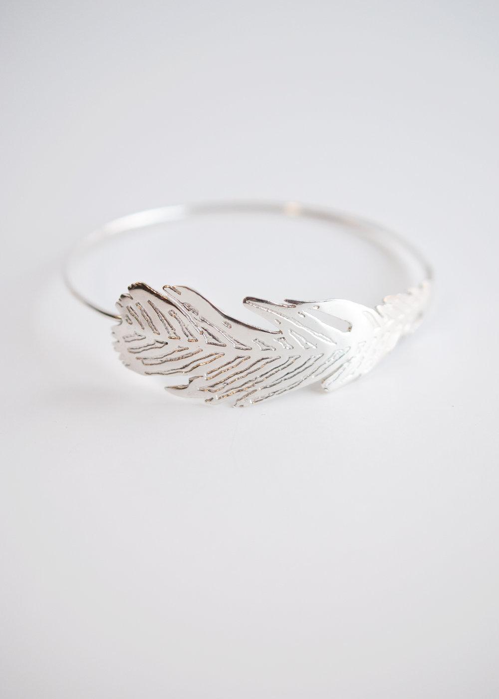 Taran Marlow Jewelry Feather bracelet.jpg