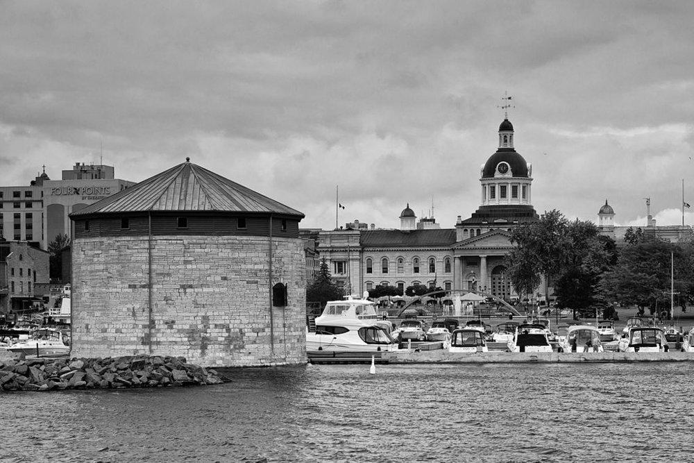 Kingston City Hall and Martello Tower, photo credit: Benson Kua