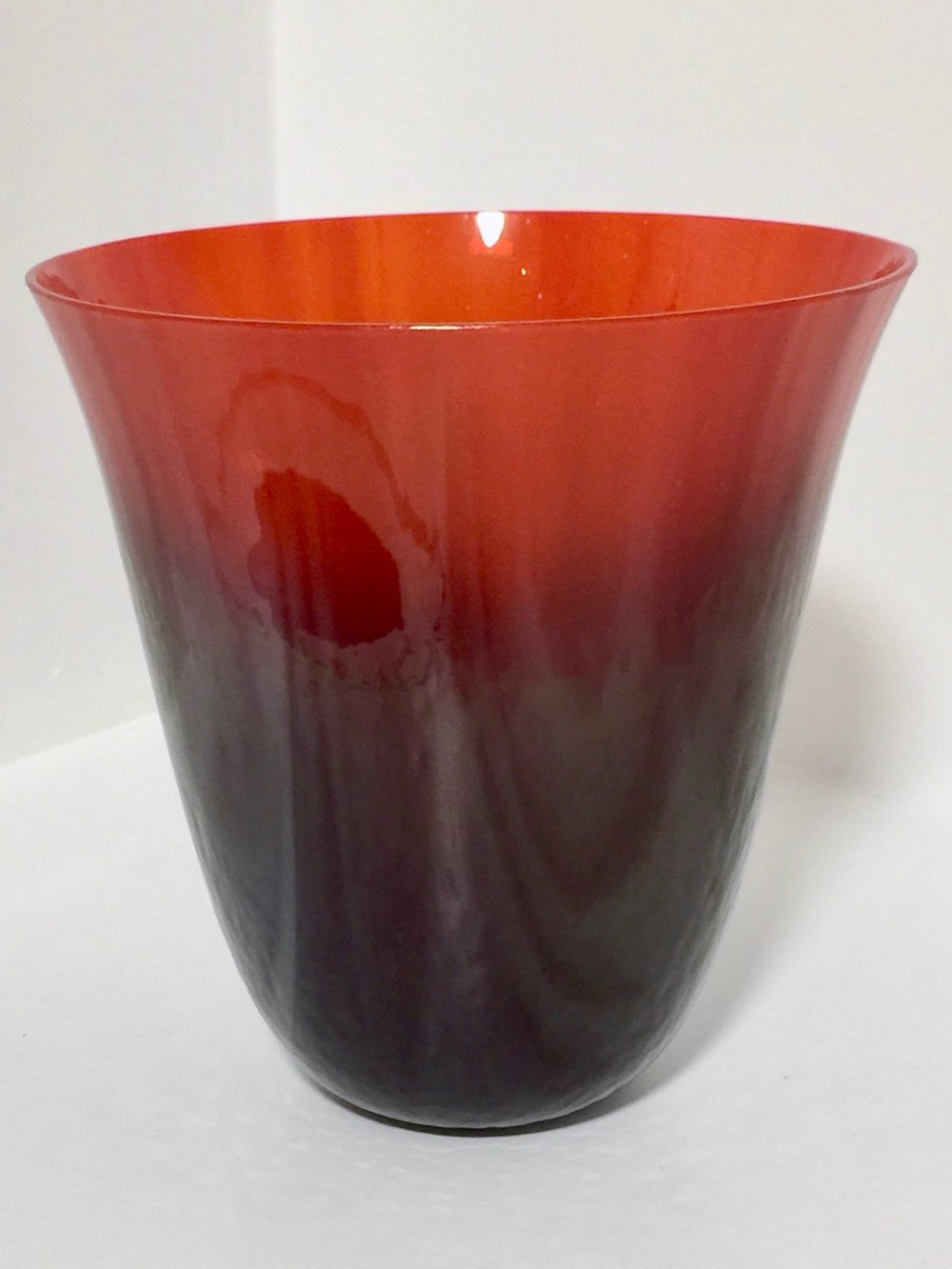 Sarah Dionne Red and Grey Bowl, $150.jpg