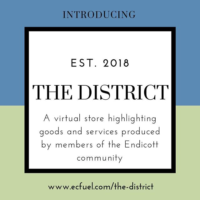 Motivational Monday! We are pleased and excited to announce The District. Of course we have to dedicate today's motivation to the Endicott College community entrepreneurial nature! Take a look at our talented students, faculty, and alumni www.ecfuel.com/the-district #ThisisEndicott