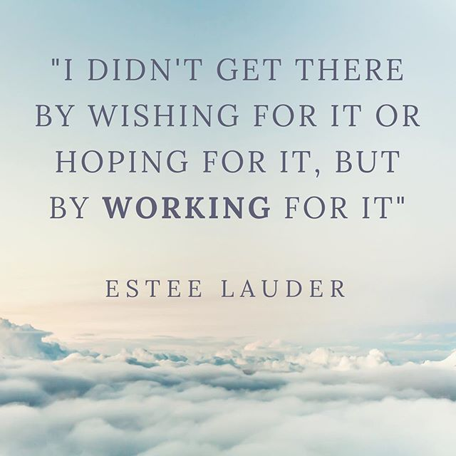 Motivational Monday! Here at Endicott College we are heading into final's week (eeek)... a little motivation from Estes Lauder which easily relates to final exams or any business venture #thisisEndicott