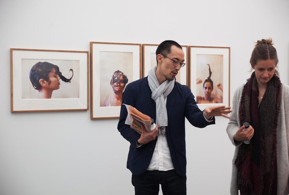 Ana Mendieta at Galerie Lelong