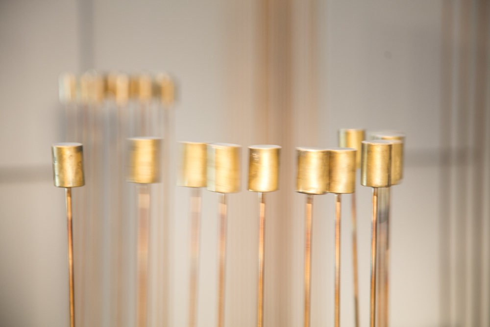 Val Bertoia Sounding Sculptures installation