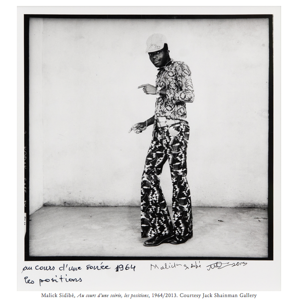 Malick Sidibé's photographs are internationally recognized for their narrative exploration of identity and a particular swagger born of youth culture in 1960s Mali. Emboldened by their nation's recent independence from France, his subjects confidently revel in their stature as members of an emerging modern decolonized nation.   READ FULL REVIEW in PHOTOGRAPH Magazine
