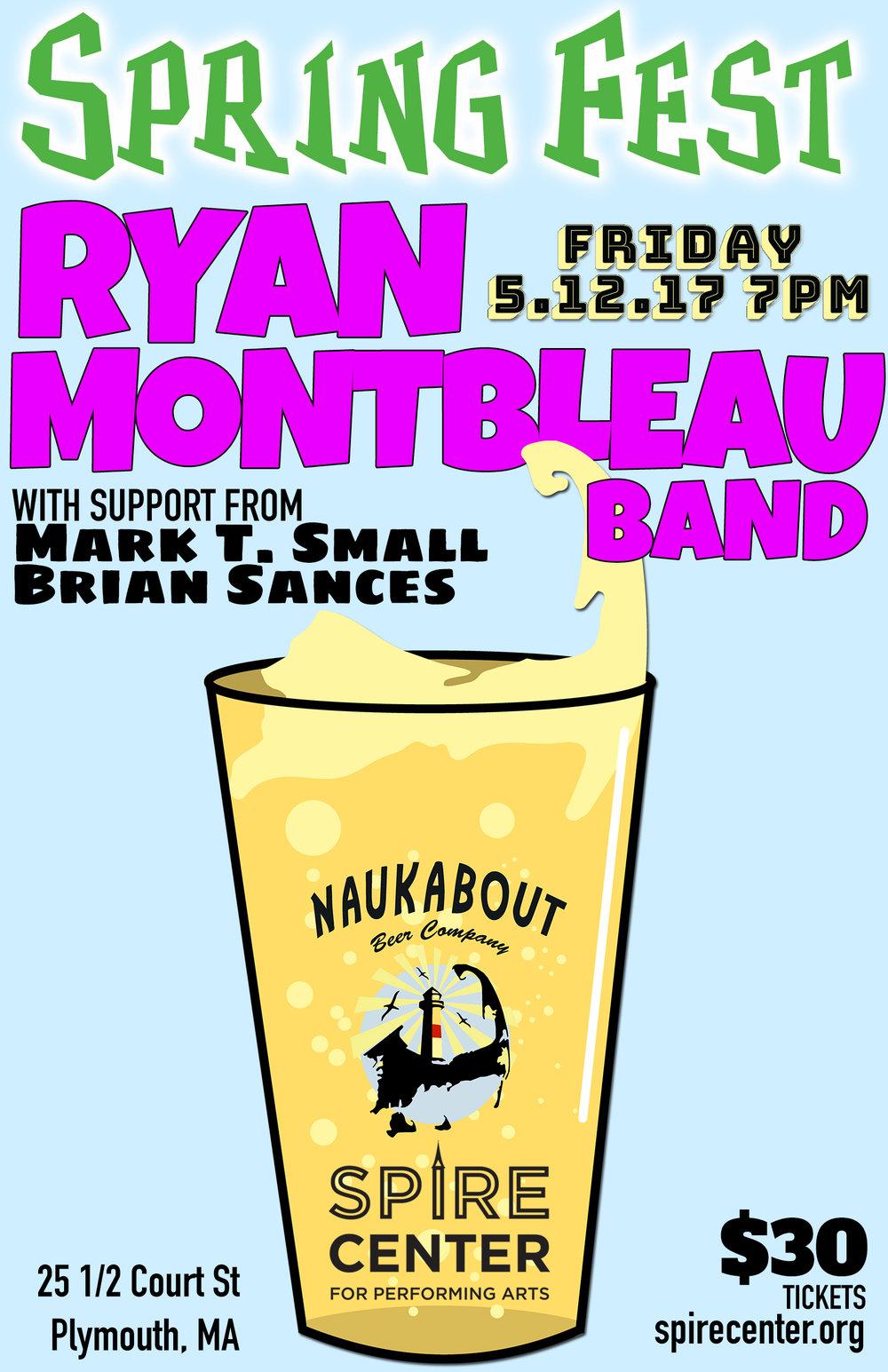Naukabout Spring Fest w/ Ryan Montbleau