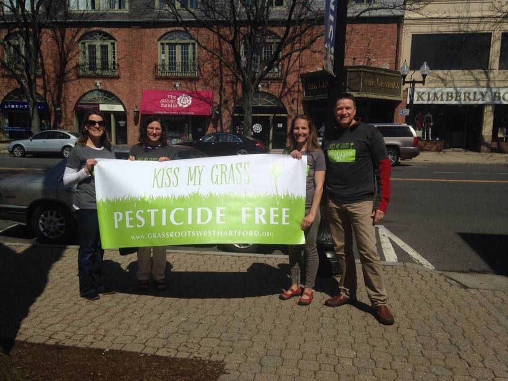 Celebrating Earth Day (4/22/15) in West Hartford Center