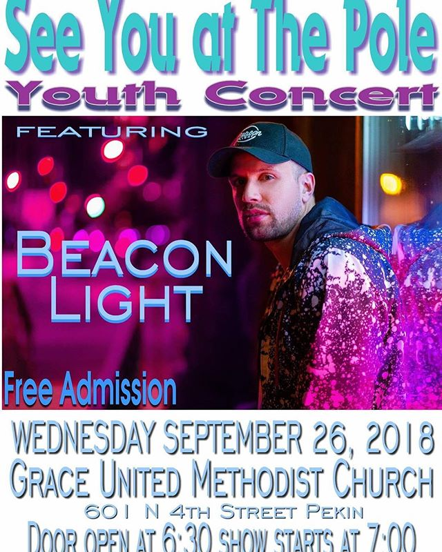 Just a reminder that we will not be meeting at church tomorrow night. Join us for the See You at the Pole concert at Grace United Methodist! Doors open at 6:30! If you need a ride meet us at PFN @ 6:00.