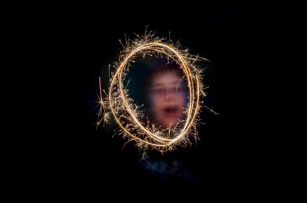 Emma's Portrait  Nikon D7000 ISO 400 f/8 50mm 2 sec.