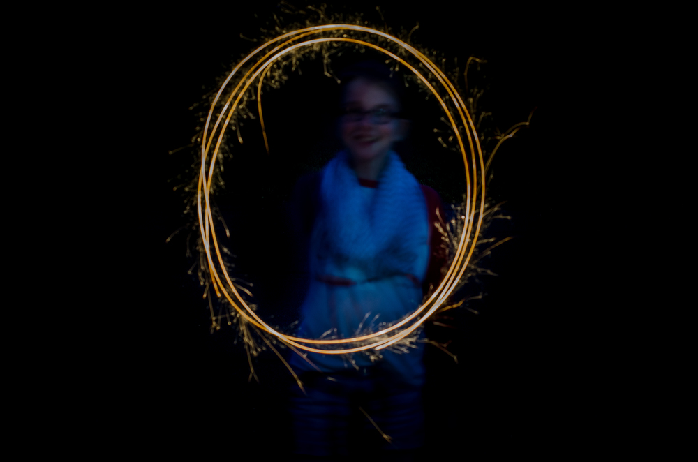 Madeline's Portrait  Nikon D7000 ISO 400 f/8 50mm 2 sec.