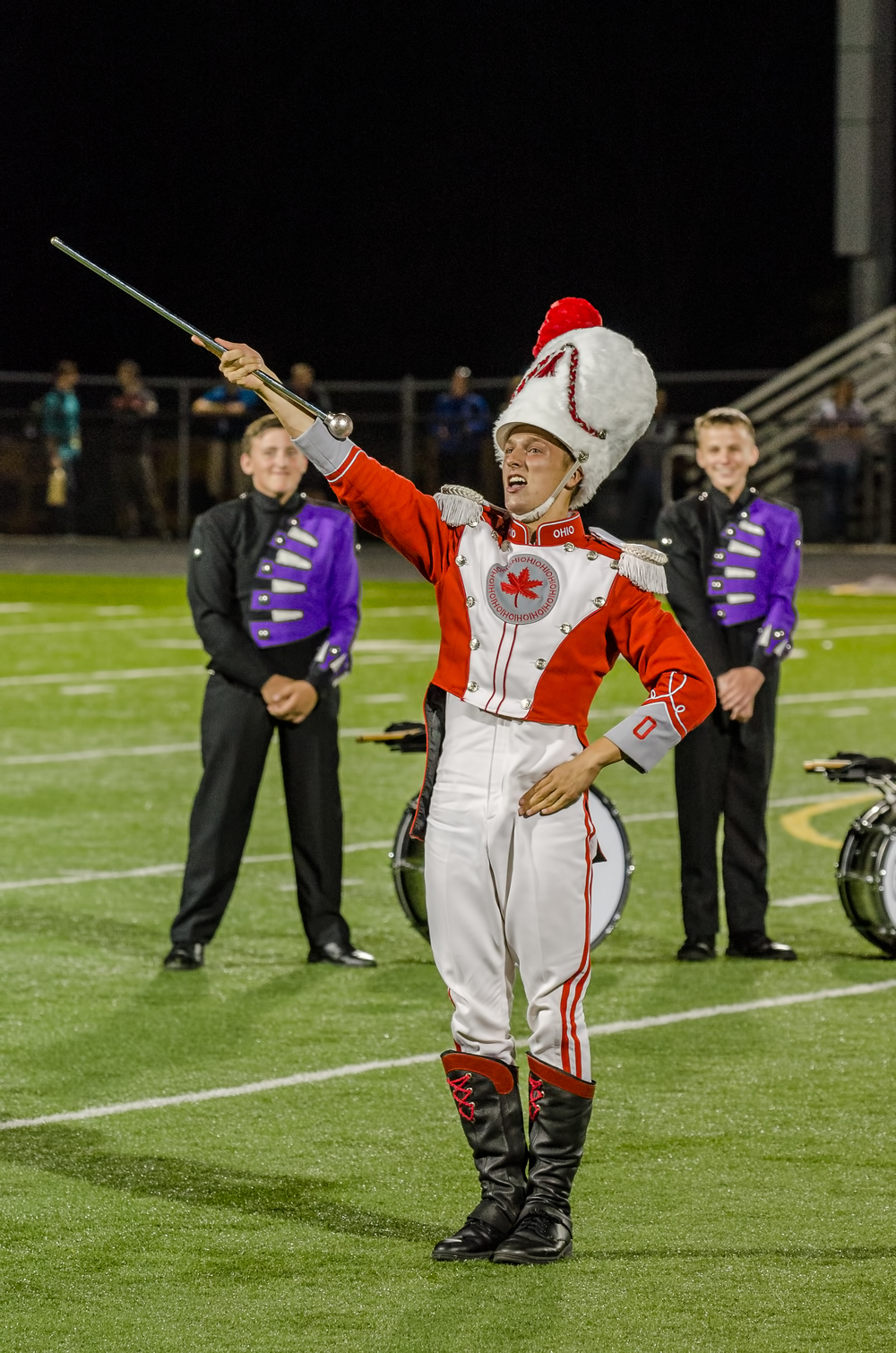 John LaVange - OSU Drum Major  Nikon D7000 ISO 640 120mm f/5.6 1/125 sec.