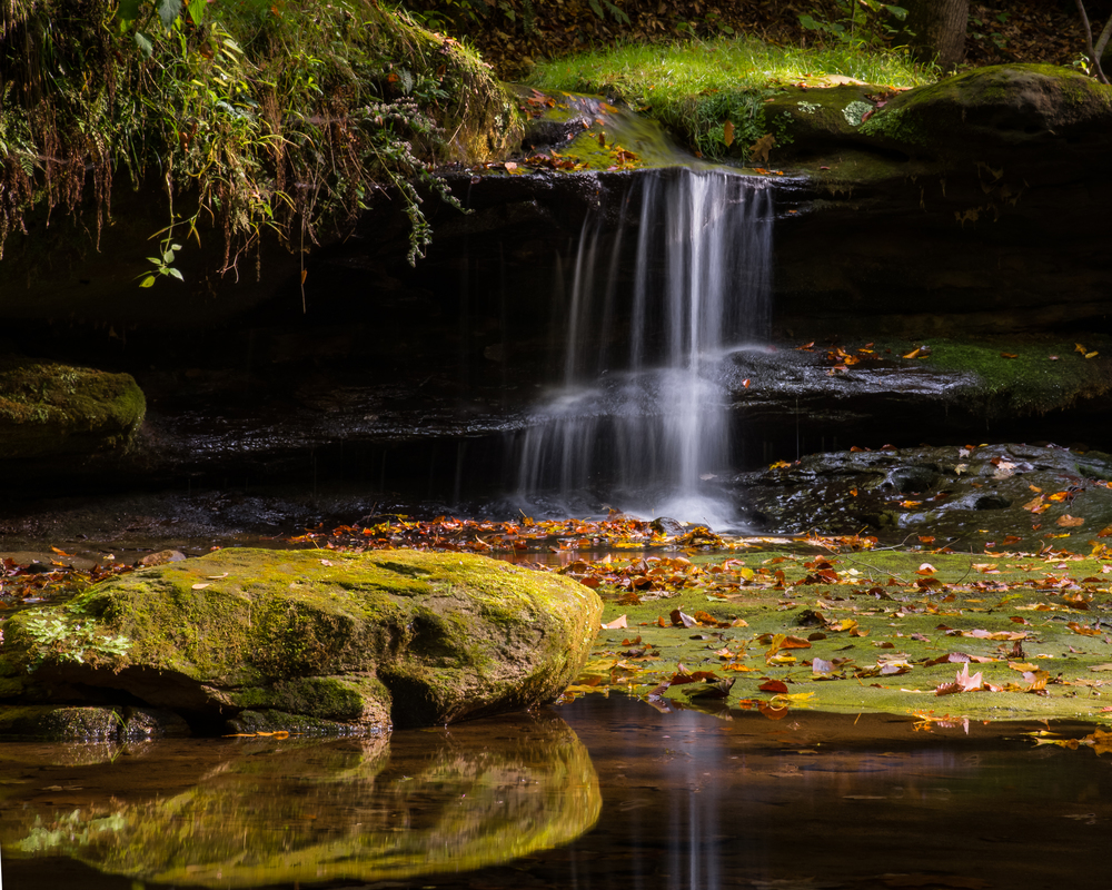 Camp Mowana Waterfall #2 Nikon D610 ISO 800 92mm f/22 1/10 sec. HDR