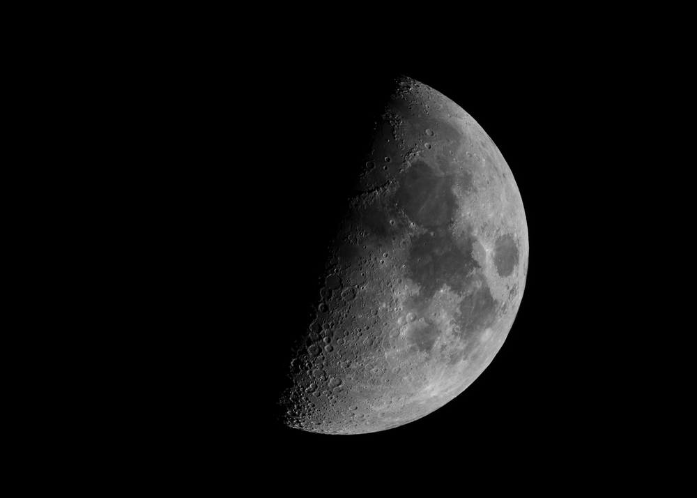 Waxing Moon 12182015  Nikon D750 ISO 250 1200mm (Registax of 11 images of varying f-stop and shutter speed)
