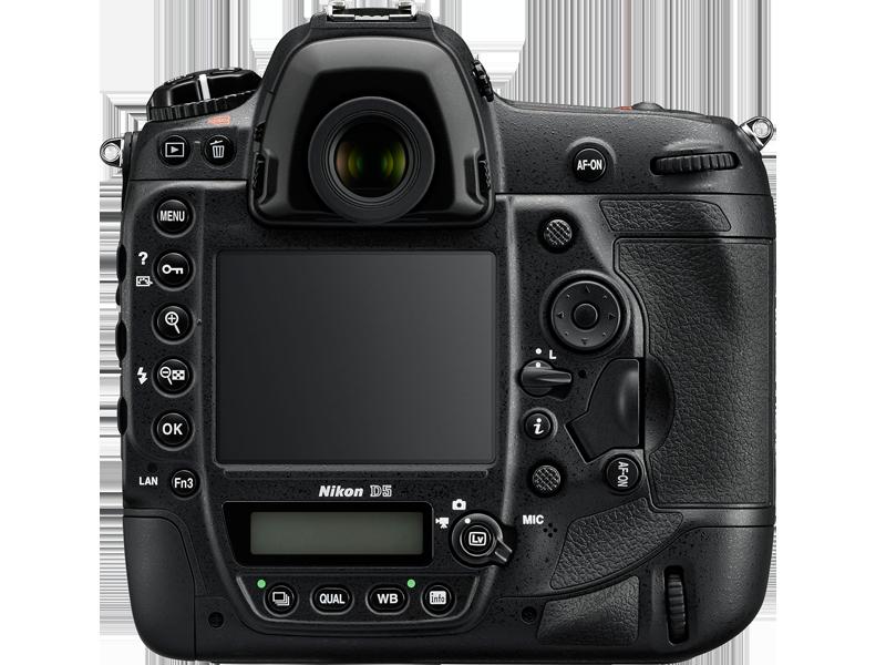 Nikon D5 Rear Controls