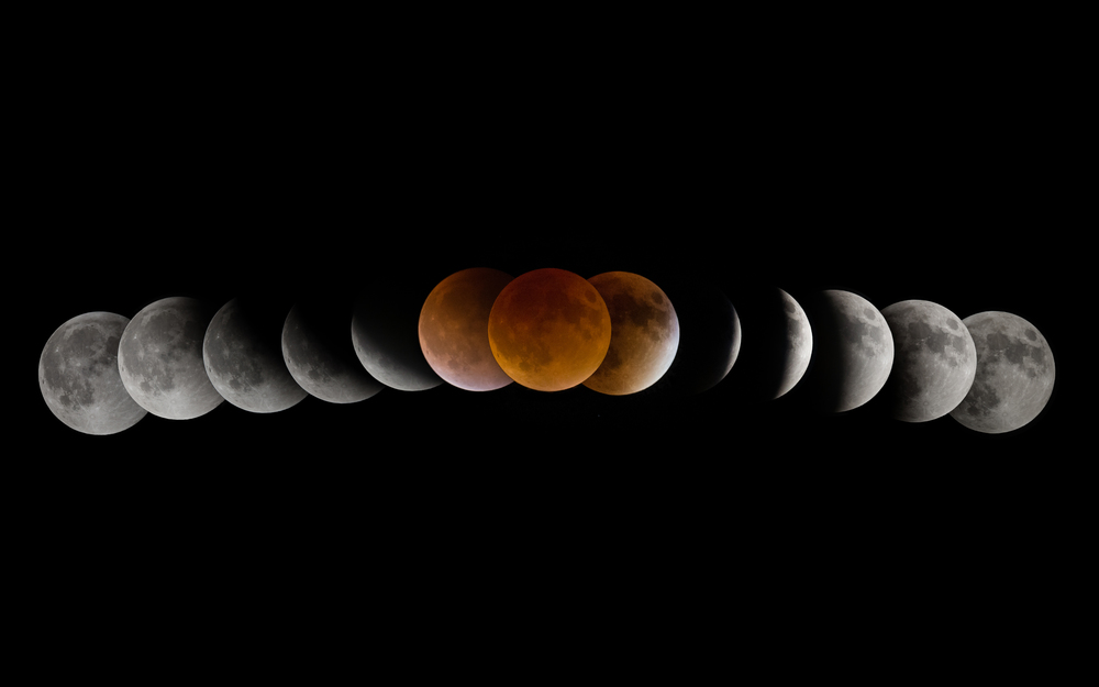 Supermoon Eclipse