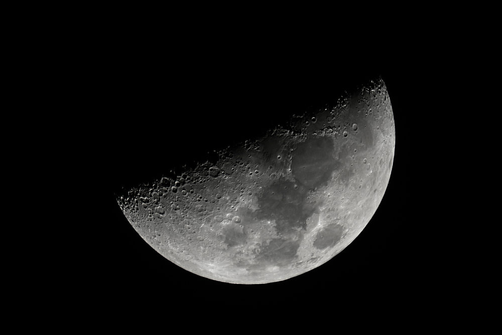 Moon Waxing Crescent 6.67 days 42% Illumination