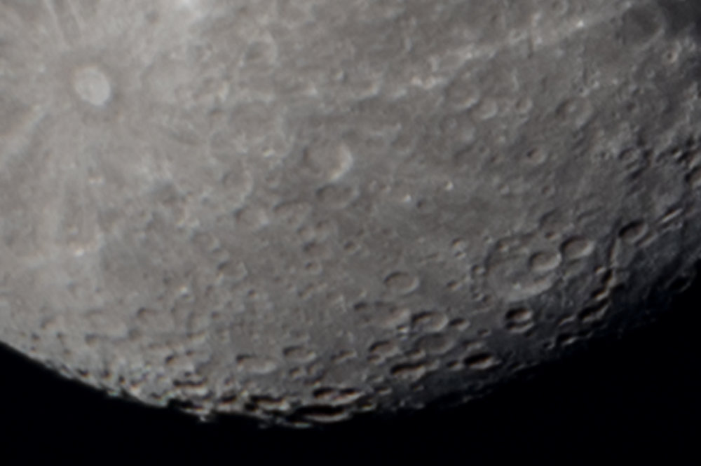 1:1 Moon Close-Up - Single frame output