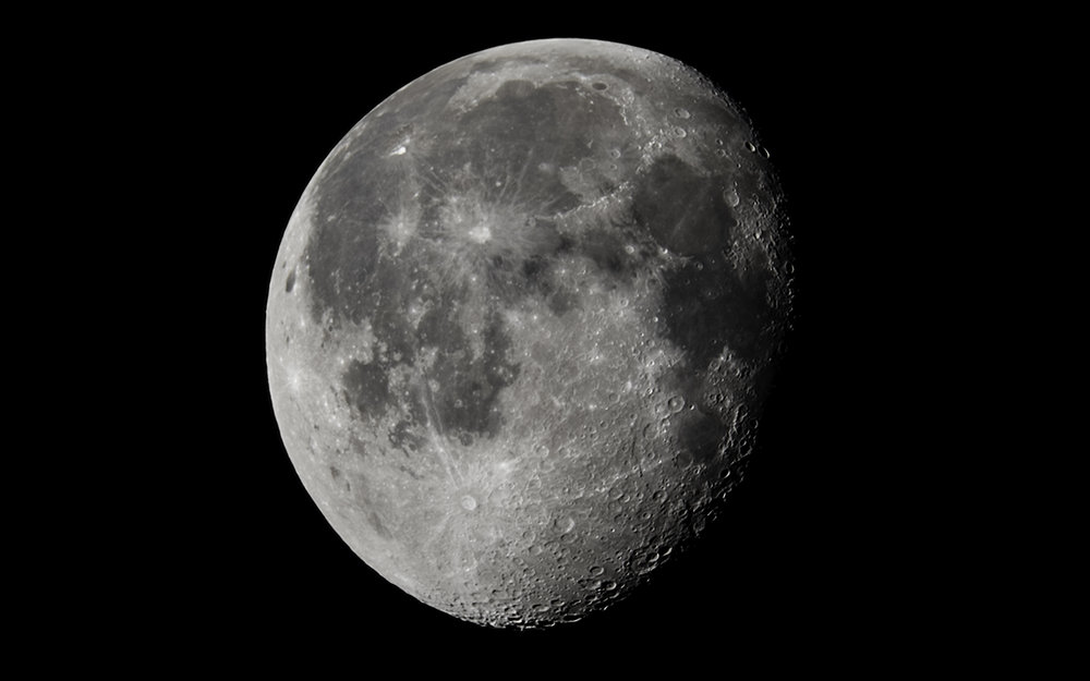 Waning Gibbous - a 65% illuminated on 16 March 2017