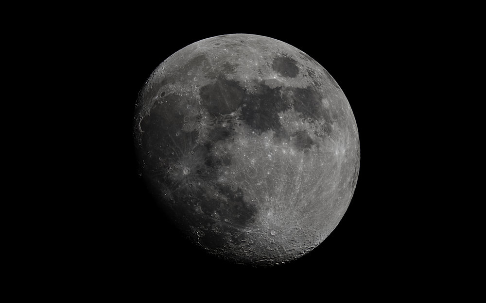 Waxing Gibbous Moon  84% Illuminated 11 days old