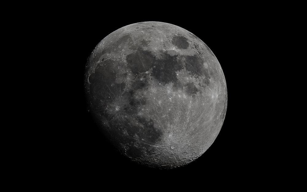 Waxing Gibbous Moon  84% Illuminated 11 days old