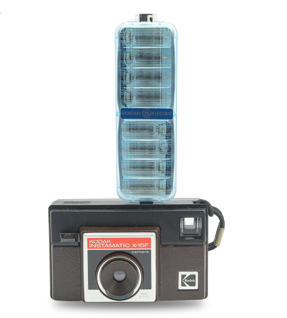 kodak x-15f instamatic camera outfit
