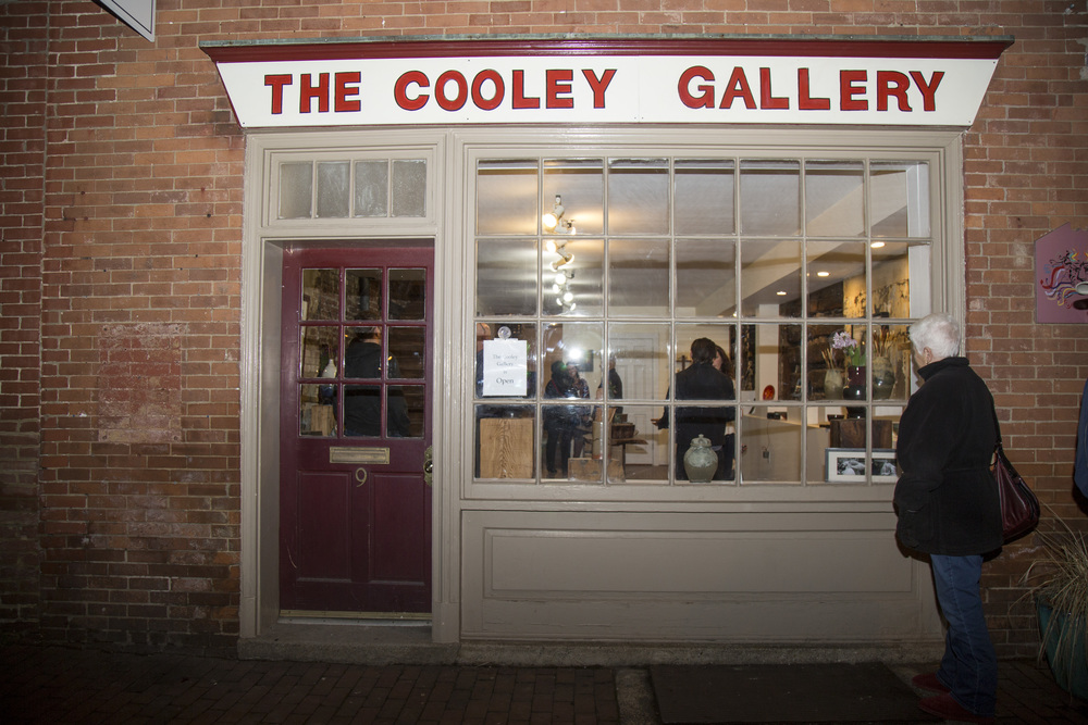 Chris Cooley Re-Opens Art Gallery