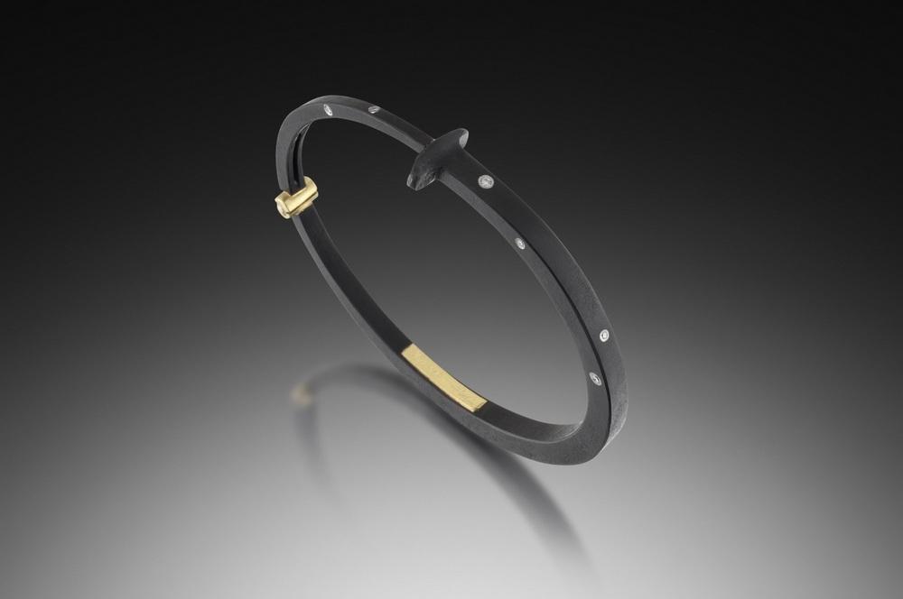 Nine Stone Nail Bracelet