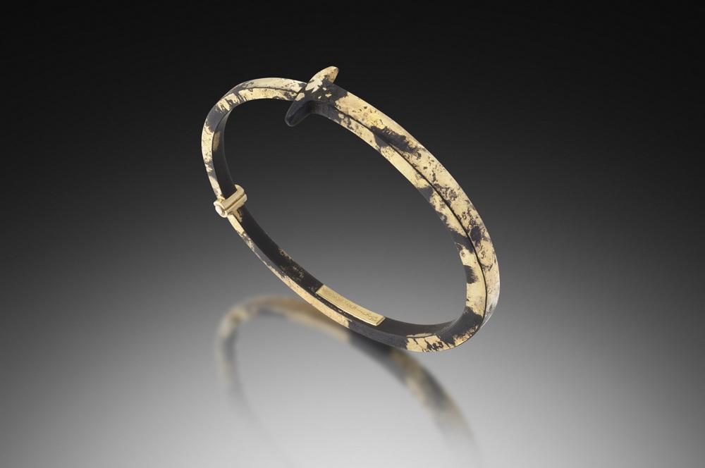 22 Karat Dust Nail Bracelet