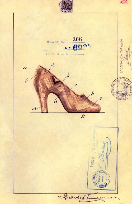 Shoe Design for Gloria Swanson