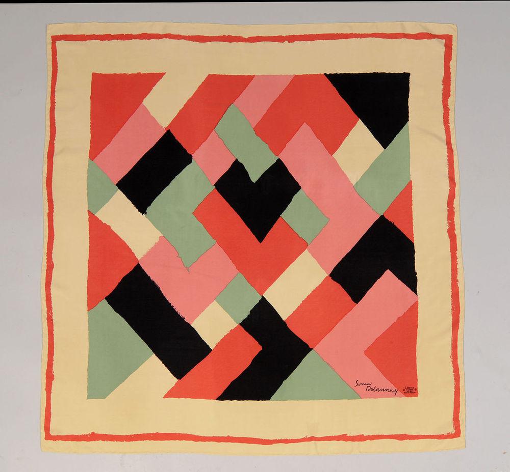Delaunay Silk Scarf Print