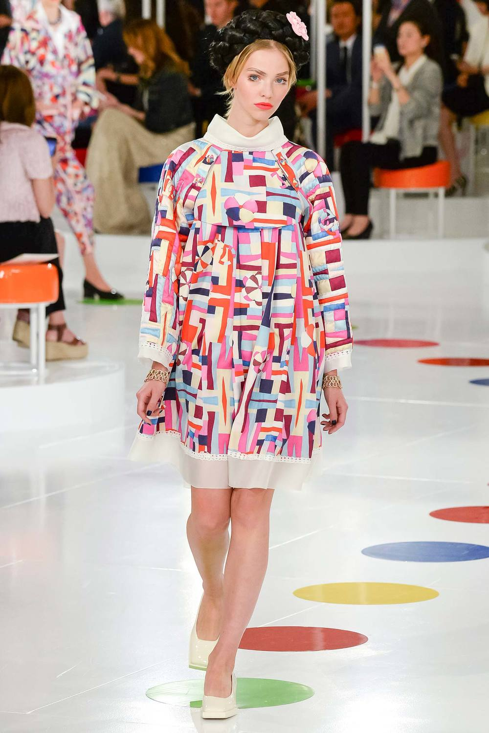 Chanel Cr 16 Presentation (I believe no games of Twister were played though inferred by the dot runway!)