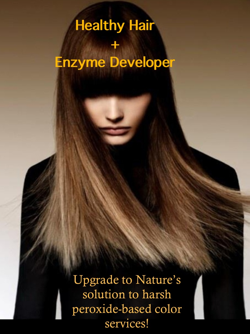 Enzyme Developer Upgrade Your Hair Color From Hydrogen Peroxide