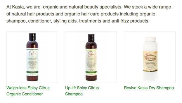kasia shampoo natural